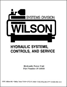 Hydraulic Power Unit Manual