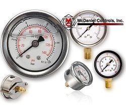 Stainless Steel with Brass Gauges